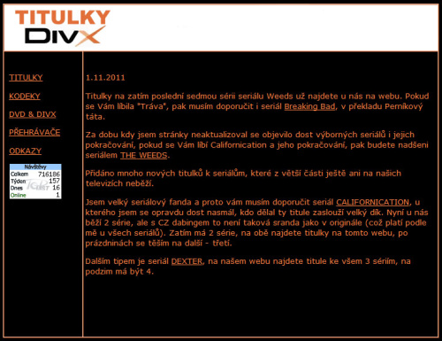 Titulky-Divx